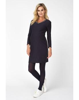 Umstandskleid Damen Dress Renske V-Ausschnitt sportlichen Look 90521