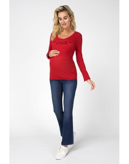 Damen Jeans Bootcut Umstandsjeans Jade von Noppies schmale Passform, ausgestellte Beine