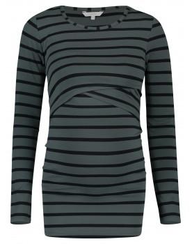 Noppies Still-Shirt Shanna mit Wickelausschnitt langarm 90612