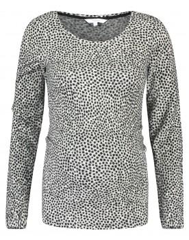 Noppies Langarmshirt Umstands-Shirt Sia mit Leopardenmuster aus Baumwollmix 90616