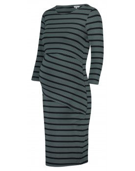 Noppies Still-Kleid Sophia Umstandskleid Mid mit Streifenmuster 90623