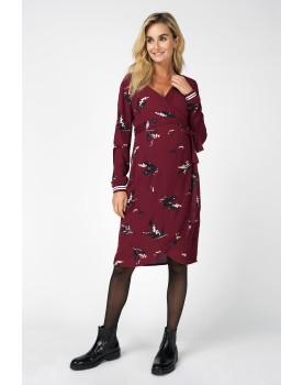 Noppies Still-Kleid Sera mit Wickel-Ausschnitt und Blumen-Print 90628
