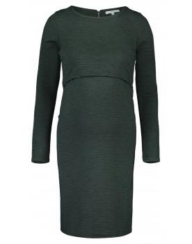 Noppies Still-Kleid Zinnia Rippstrickleid stylisch Midi-Länge grün 90629