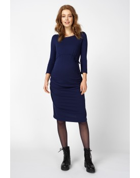 Queen Mum Umstands-Kleid Business 3/4-Arm stylisch lässig 91545