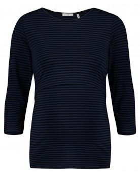 Queen Mum Still-Shirt 3/4-Arm Streifen Bio-Baumwolle mit GOTS-Zertifikat 91568