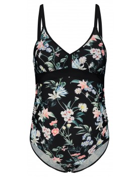 Esprit Umstands-Badeanzug mit Blumenprint N1984861