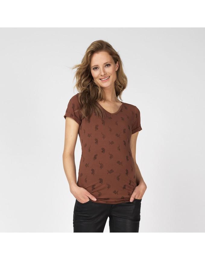 T-shirt Tiger AOP