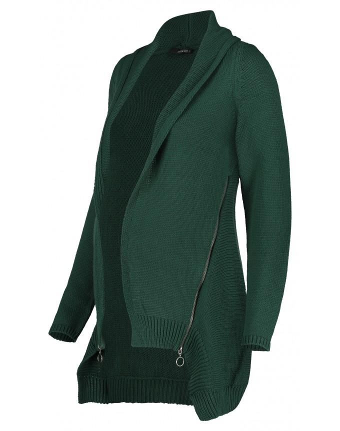 Strickjacke Green Zip