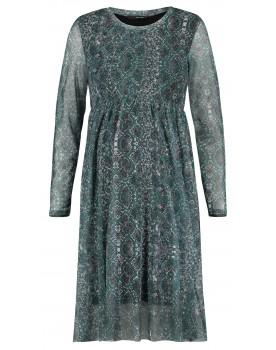 Supermom Kleid Snake Schlangen-Print Netzstoff Umstands-Kleid S1039