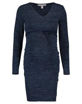 Esprit Kleid nachtblau Umstands-Kleid Midi langarm BändchenU1984260