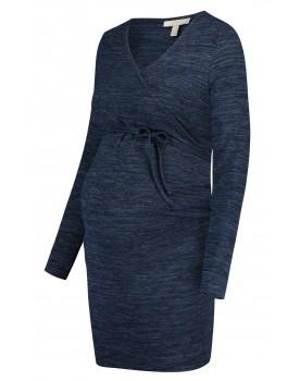 Esprit Kleid nachtblau Umstands-Kleid Midi langarm U1984260