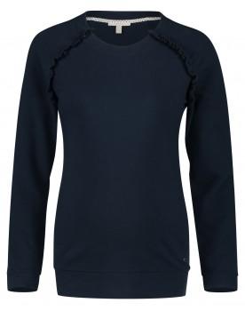 Esprit Still-Shirt Pullover mit Reissverschluss U1984600
