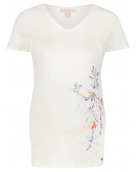 Esprit Umstandsshirt mit Blumenmuster und V-Ausschnitt U1984701
