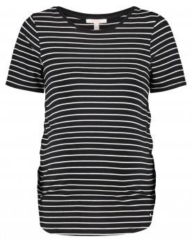 Esprit Umstandsshirt T-Shirt mit Streifen in lockerer Passform U1984713