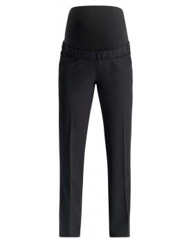 Esprit Umstandshose Business Hose schwarz mit Stretchanteil und Taschen U198X100