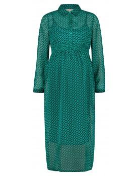 Esprit Maxi-Stillkleid Print Schwangerschaftskleid Kragen V1984264