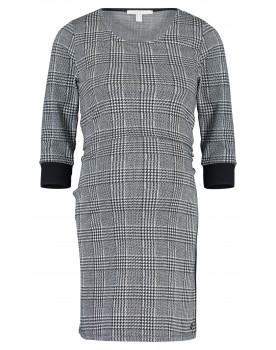 Esprit Kleid V1984265 Umstandskleid Midi Karo Muster Schwangerschaft