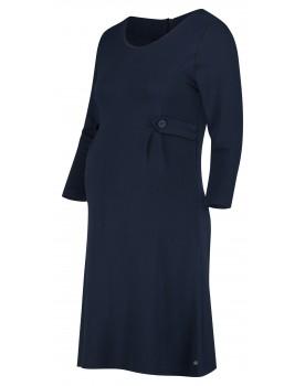 Esprit Kleid 3/4 Ärmel Midilänge Umstands-Kleid V1984266