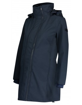 Esprit Umstandsjacke Winter Umstands-Mantel Kapuze 3-in-1-Jacke V1984451