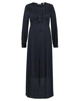 Queen Mum Umstands-Kleid langarm und in Maxi-Länge 91747