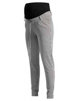 Noppies Business Hose Tamar in Tapered Fit mit einer entspannten Passform und ein schwarz-weißes Hahnentritt-Muster 90708