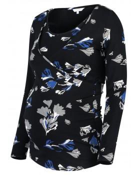 Noppies Still-Shirt Tammy mit Allover-Print und Wickelausschnitt 90712