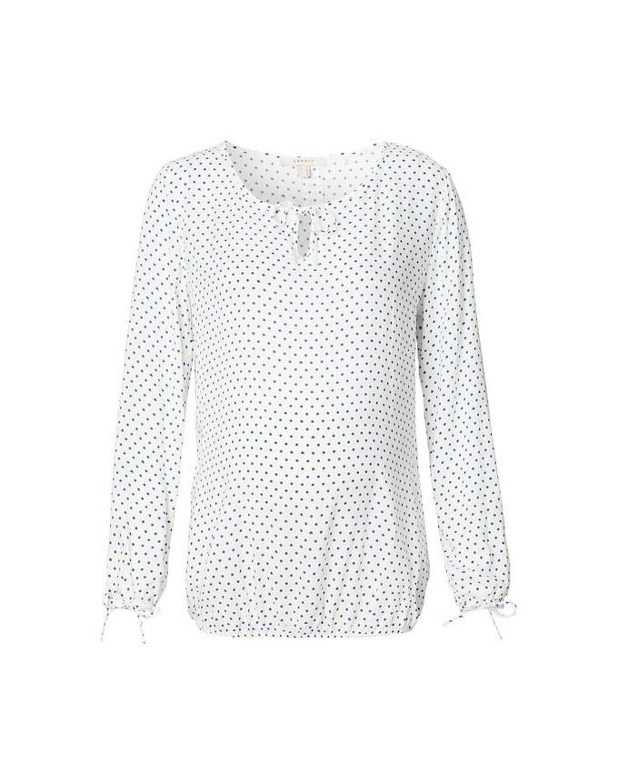 Stilvolle Bluse von Esprit Carmen-Halsausschnitt ein Herzchenmuster