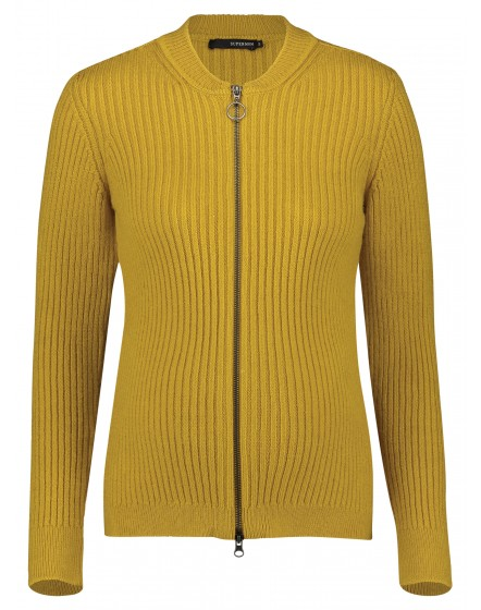 Supermom Strickjacke Yellow S1059