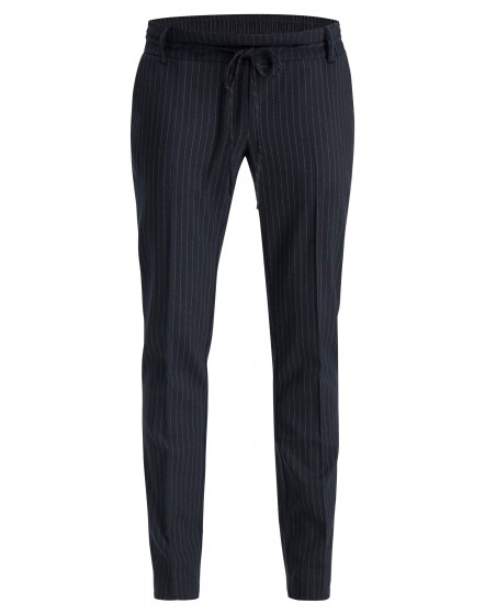 Esprit Business Hose aus superweichem Material, mit Streifenmuster in tapered Passform W1984100