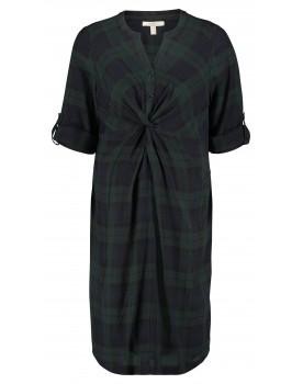Esprit Still-Kleid in Karomuster und Midi-Länge W1984265