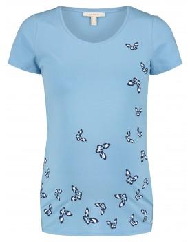 Esprit T-shirt mit einem grafischen Schmetterlingsprint W1984704