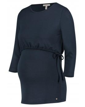 Esprit - Still-Shirt Tunika in nachtblau und Rundhalsausschnitt X1984703