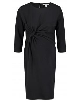 Esprit - Stylisches Minikleid aus feinem schwarzen Baumwollmix Y1984263