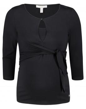 Esprit Still-Shirt im stylischem Look schwarz Y1984709