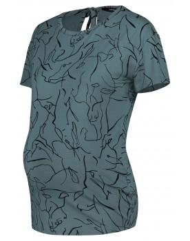 Supermom T-shirt Lines Green 20210017
