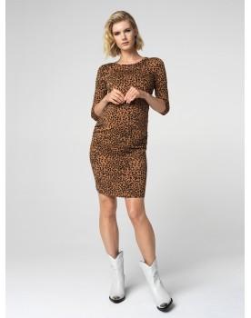 Supermom Umstands-Kleid Leopard 20210410