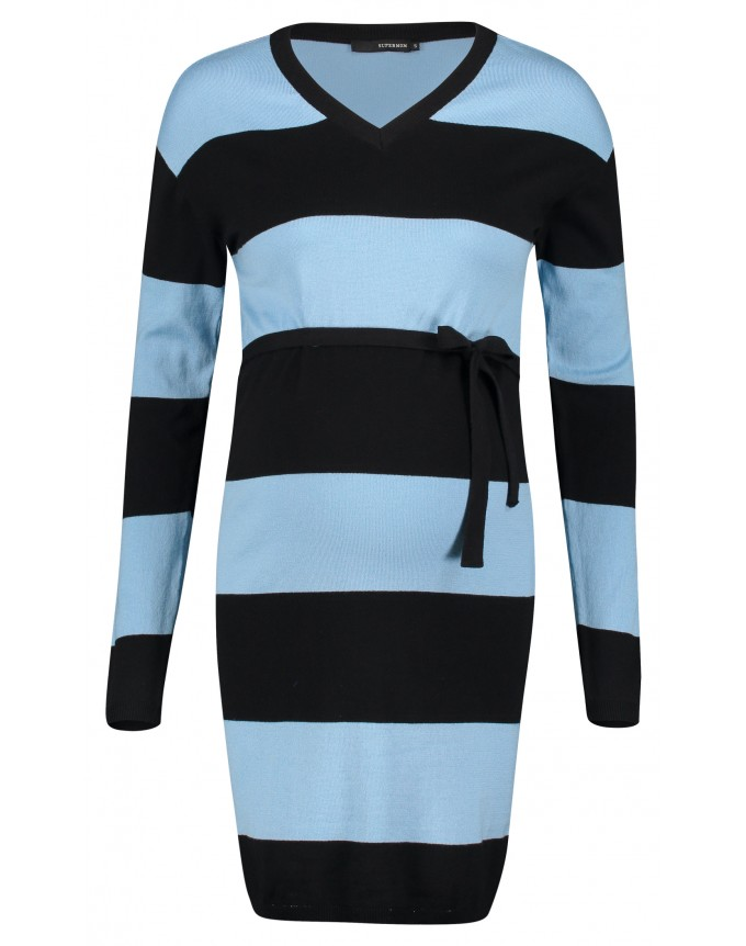 Kleid Blue Stripe