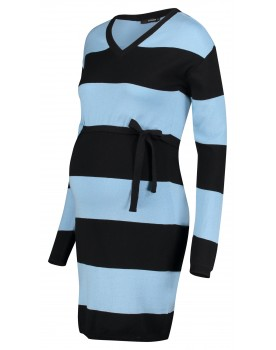 Superom Kleid Blue Stripe mit Stretchanteil 20210414