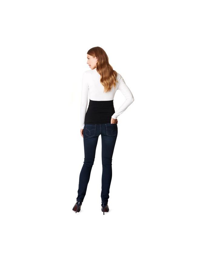 Umstandsjeans feminin geschnittene Slim Fit Jeans