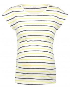 Noppies Umstandsshirt T-shirt Aline mit stylischen Cap-Ärmeln 20020022
