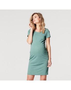 Noppies Umstands-Kleid Zinnia Bodycon-Kleid aus strukturiertem Stoff 20020414