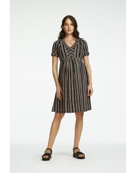 Queen Mum Umstandskleid Still-Kleid Orlando aus gewebten Material 20120419