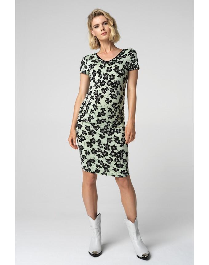 Kleid Green Flower