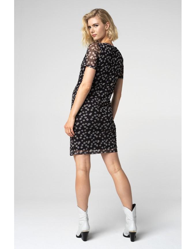Kleid Black Flower