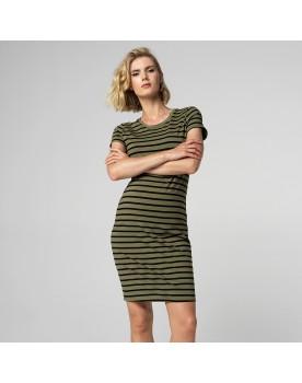 Supermom Kleid Striped aus einem weichen Stoff mit Stretch 20220414
