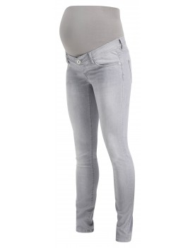 Supermom Skinny Umstandsjeans Light Aged Grey 20221010