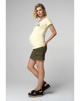 Supermom Umstandsrock Mini Olive 20221310