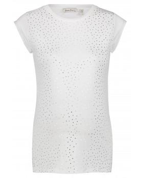 Queen Mum Umstandsshirt T-shirt Kyoto mit Punktedruck aus Bio-Baumwolle mit GOTS-Label 20130011