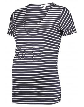 Esprit Still-Shirt Umstandsshirt doppellagig aus Viskose 20830013