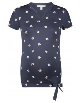 Esprit Umstandsshirt T-shirt mit Schleifendetail 20830014